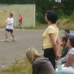 Pani Magdalena Kocik podczas pikniku prawicowego w Wiśniowej Górze w 2009 roku. Foto. PSz/Prokapitalizm.pl